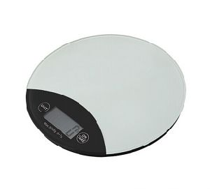 Electronic Glass Round Kitchen Scale pictures & photos