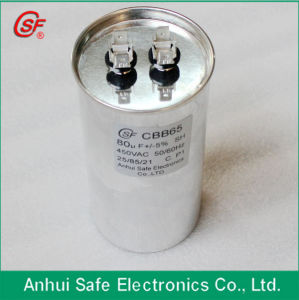 Cbb65r 450 VAC Cbb65 Capacitor 12.5UF pictures & photos