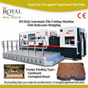 Ryz1050q Full Automatic Die Cutting Machine with Stripping CE pictures & photos