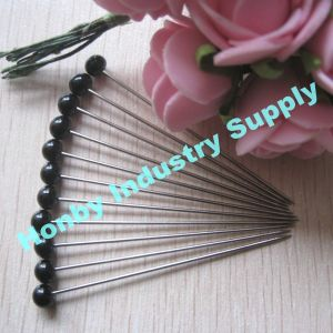 Wholesale 55mm Ball Shaped Pearl Head Muslim Brooch Hijab Scarf Pins pictures & photos