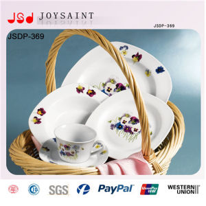 Hot Selling Squared Dinner Set (JSD116-S026) pictures & photos