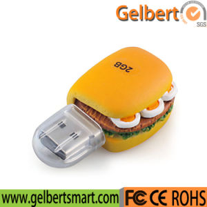 Best Price Hamburger Shape 32GB USB 2.0 Memory Stick pictures & photos