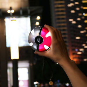 Portable Pokeball Power Bank with LED Flashlight pictures & photos