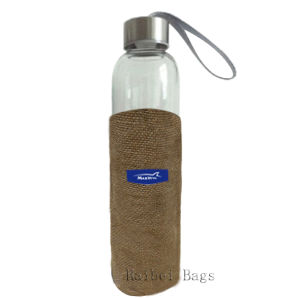 Jute Bags for Water Bottle pictures & photos