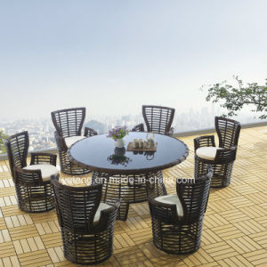 2016new Design Garden Chairs &Tables Outdoor Furniture Dining Set for 6person (YT645-1) pictures & photos