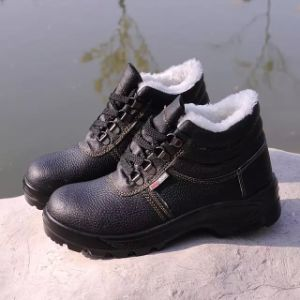 Industrial Strong and Professional PU/Leather Outsole Working Safety Shoes pictures & photos