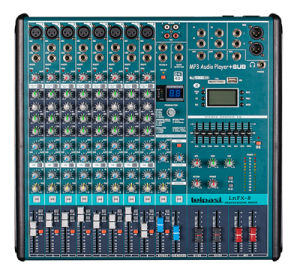 8 Channel Professional Sound Audio Mixer Lnf8 pictures & photos