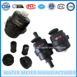 Volumetric Water Meter Black Nylon Plastic Water Meter of Dn15-25mm pictures & photos
