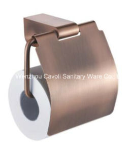 Zinc Alloy Paper Holder Without Cover with Chrome Plated