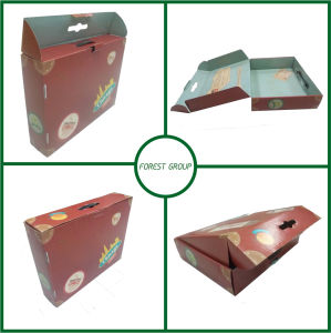 Matte Color Paper Shopping Bag with Handle pictures & photos