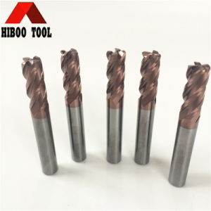 Manufacuter Tungsten Carbide Raduis Metal End Mill pictures & photos