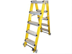 (375LBS) 35kv Fiberglass Portable and 5 Step Ladder pictures & photos