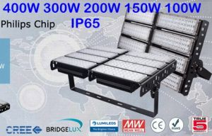 Factory Price LED Flood Light 400W IP65 5 Years Warranty Replace 1000W Sodium pictures & photos