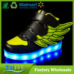 Magic USB LED Lights Flashing Lights Wings Charging Shoes pictures & photos