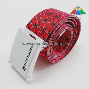 Sublimation Printing Women Webbing Belt, Heat Transfer Webbing Strap pictures & photos