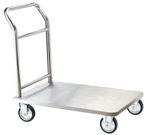 Stainless Steel Luggage Trolley for Hotel Lobby (XL-05) pictures & photos