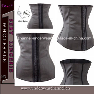 2015 Stylish Women Rubber Waist Lingerie Trainning Cincher Corset (TA2097) pictures & photos