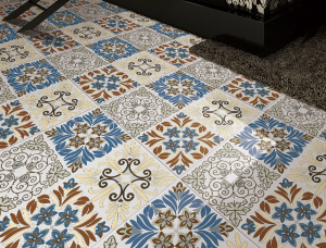 Foshan Non-Polished Pattern Floor Tiles for Interior pictures & photos