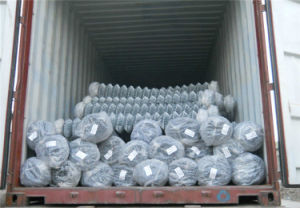 12.5 Guage Diamond Chain Link Fence 6′ High Facotry Best Price pictures & photos
