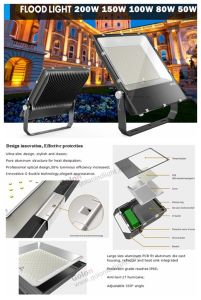 Manufacture Projector Lighting 200W Best Price Philips SMD 200 Watts Outdoor LED Project Light pictures & photos