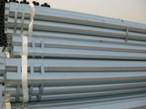 Greenhouse Pipe ASTM A53 BS1387 ERW Hot DIP Steel Gi Pipe Price pictures & photos