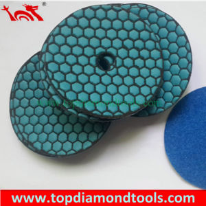 100mm Velcro Backing Flexible Dry Polishing Pad pictures & photos