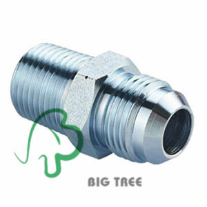 Jic Metric Male 60 Degree Cone Pipe Adaptor pictures & photos