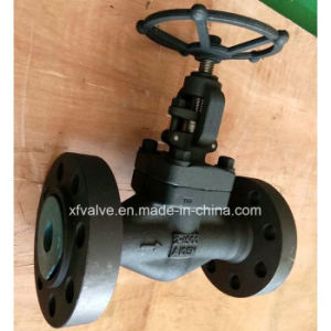 1500lb 2500lb Forged Carbon Steel A105 Flange End Globe Valve pictures & photos