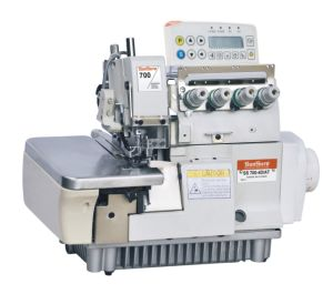 Full Automatic High Speed Computer Overlock Sewing Machine pictures & photos