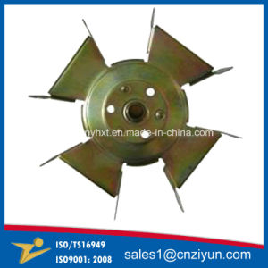 OEM Pricision Yellow Zinc Plating Small Metal Stamping pictures & photos