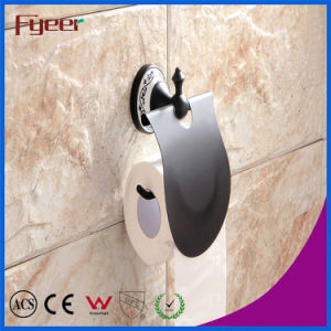Fyeer Classic Black Bathroom Accessory Toilet Paper Roll Holder pictures & photos