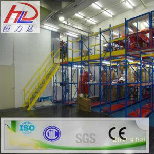 Ce Approved Adjustable Mezzanine Warehouse Storage Shelf pictures & photos