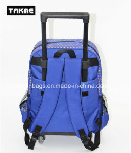 Cartoon Printing Trolley Backpack School Bag for Children pictures & photos