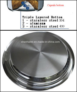 Stainless Steel Grill Pan Griddle Pan pictures & photos