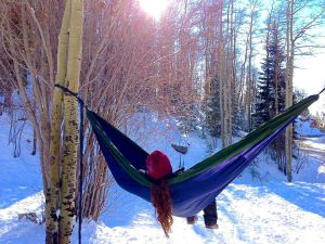 Carries Bi Colour Camping Hammock Eco-Friendly and Portable pictures & photos