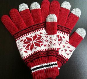Acrylic Knitted Magic Glove