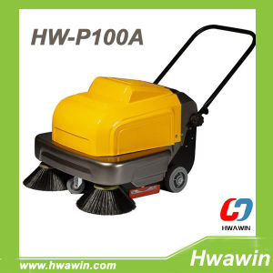P100A Powerful Electric Walk Behind Street Sweeper Machine pictures & photos