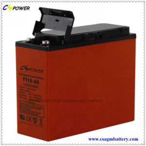 Front Terminal/Telecom/Gel Battery FL12-55 for UPS System pictures & photos
