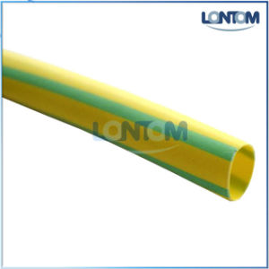 Halogen Free Green Yellow Heat Shrink Tube pictures & photos