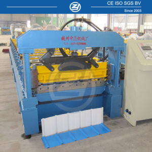 Trapezoidal Steel Roof Roll Forming Machine pictures & photos