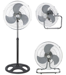 18 Inch Stand Fan (3 In 1-Pedestal/Table/Wall Mounted) pictures & photos