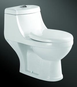 High Quality Washdown One-Piece Ceramic Toilet Made in Chaozhou pictures & photos