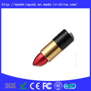 Promotion Gift Lipstick U Disk with Custom Logo Freely pictures & photos