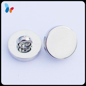 Flat Top Button Plain Plastic Suit Button with a Shank pictures & photos