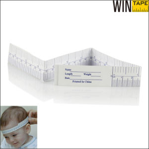 Tyvek Disposable Medical Paper Tape Measure for Measuring Baby Head pictures & photos