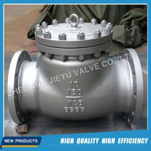 API 6D Casting Steel Wcb/Wcc/Lcb/Lcc Water Check Valve pictures & photos