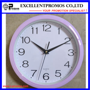 Logo Printing Round Plastic Wall Clock (Item1) pictures & photos