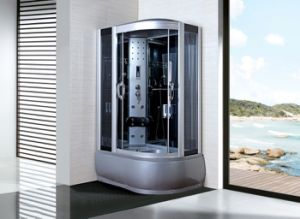 High Tray 45cm Left and Right Style Steam Shower Cabin (ADL-8306L/R) pictures & photos