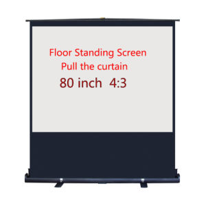 to Pull Projection Screen 80 Inch pictures & photos