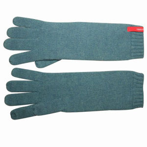 Women Fashion Long Wool Acrylic Knitted Winter Warm Gloves (YKY5434) pictures & photos